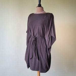 Batwing Kimono Sleeve Little Black Dress Formal